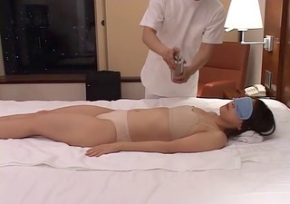 sexually excited japanese wives massaged and then