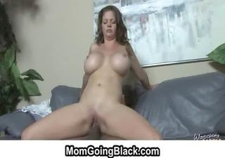 Interracial hardcore porn - Watching my mom go