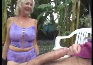 hotty mommy and not her son outdoor