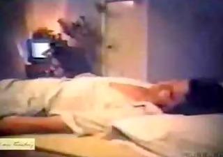 wife drilled while her husband sleeps