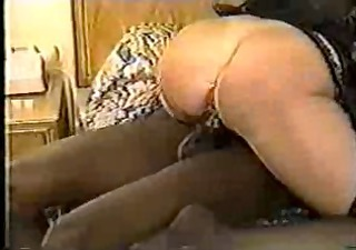 hot mature wife in lingerie goes dark