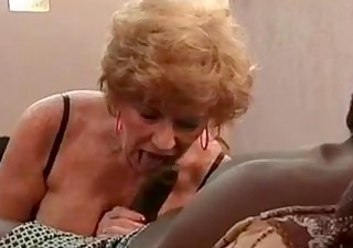 granny goes black