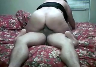 chubby mom ride a cock and suck his jism