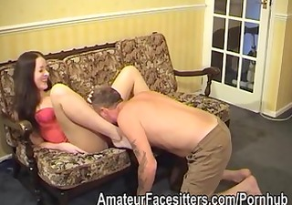 rose wood controls her man with her butt and her