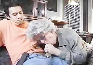 european granny goes wild