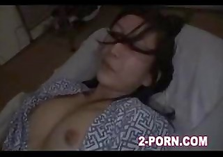 cute milf screwed when in sleep